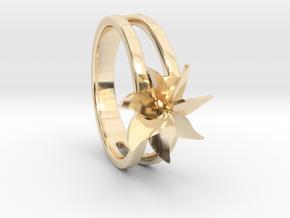 Flower Ring Size 5.5 in 14K Gold