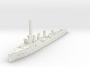 M-class German Light Cruiser (GW36) in White Natural Versatile Plastic