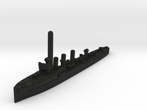 M-class German Light Cruiser (GW36) in Black Acrylic