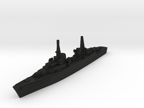 Spahkreuzer German Destroyer (GW36) in Black Acrylic