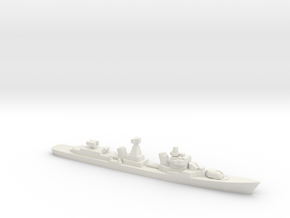 Kotlin-class destroyer (w/ SA-N-1B), 1/2400 in White Natural Versatile Plastic