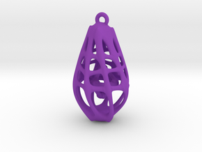 Dangly Lantern in Purple Processed Versatile Plastic