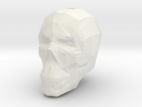SkullMistakeOldWrong20 in White Natural Versatile Plastic