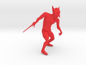 Goblin in Red Processed Versatile Plastic