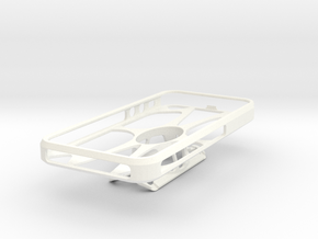 SnapMount iPhone 5s in White Strong & Flexible Polished
