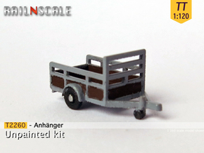 Anhänger (TT 1:120) in Smooth Fine Detail Plastic