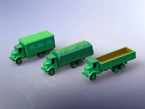 US GMC AFKWX Trucks 1 1/285 in Smooth Fine Detail Plastic