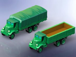 US GMC AFKWX Trucks 2 1/285 in Smooth Fine Detail Plastic