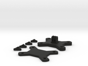 GoPro Backapack Mount in Black Natural Versatile Plastic