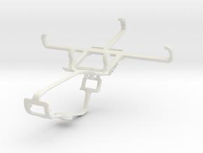 Controller mount for Xbox One & Acer Liquid M220 in White Natural Versatile Plastic