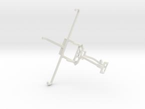 Controller mount for Xbox One & alcatel Flash Plus in White Natural Versatile Plastic