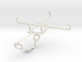 Controller mount for Xbox One & Asus Zenfone 2 ZE5 in White Natural Versatile Plastic
