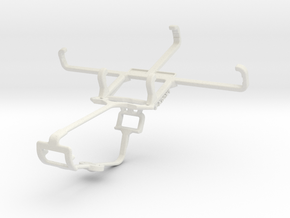 Controller mount for Xbox One & BLU Advance 4.0 L in White Natural Versatile Plastic