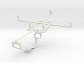Controller mount for Xbox One & Gigabyte GSmart Es in White Natural Versatile Plastic