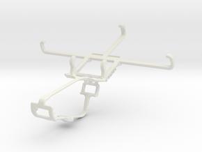 Controller mount for Xbox One & Gigabyte GSmart Ro in White Natural Versatile Plastic
