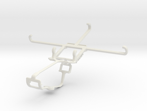Controller mount for Xbox One & HTC Desire 830 in White Natural Versatile Plastic
