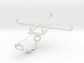 Controller mount for Xbox One & Lava A79 in White Natural Versatile Plastic