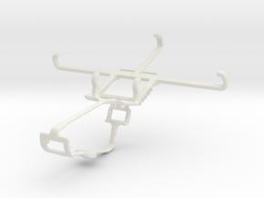 Controller mount for Xbox One & Meizu m2 in White Natural Versatile Plastic
