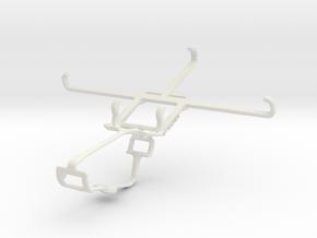 Controller mount for Xbox One & Microsoft Lumia 64 in White Natural Versatile Plastic