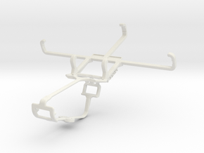 Controller mount for Xbox One & Motorola Moto G (3 in White Natural Versatile Plastic