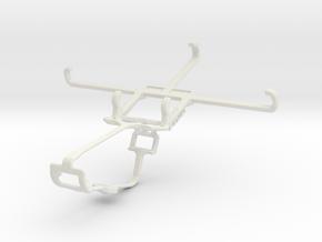 Controller mount for Xbox One & Motorola Moto E (3 in White Natural Versatile Plastic