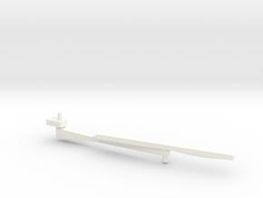 Wessex Wiper Right in White Processed Versatile Plastic