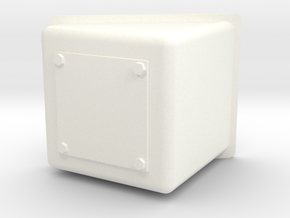 Wessex Nose Box in White Processed Versatile Plastic