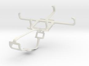 Controller mount for Xbox One & Plum Trigger Plus  in White Natural Versatile Plastic
