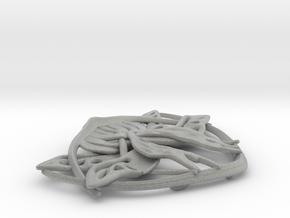 Arwen Belt Buckle in Metallic Plastic