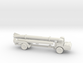 1/110 Scale Corporal Missile Launcher in White Natural Versatile Plastic