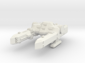 1/1000 Scale Percy Class Mid-Bulk Freighter in White Natural Versatile Plastic