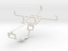 Controller mount for Xbox One & Unnecto Quattro X in White Natural Versatile Plastic
