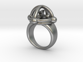 AUGOEIDES RING in Natural Silver: 5 / 49