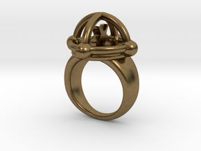 AUGOEIDES RING in Natural Bronze: 5 / 49