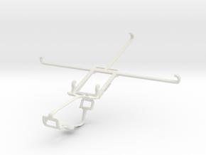 Controller mount for Xbox One & Xiaomi Mi Pad 2 in White Natural Versatile Plastic