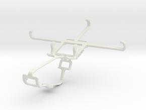 Controller mount for Xbox One & ZTE Blade L5 Plus in White Natural Versatile Plastic