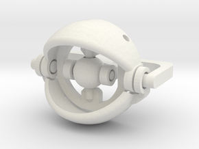20mm Eye gimble in White Strong & Flexible