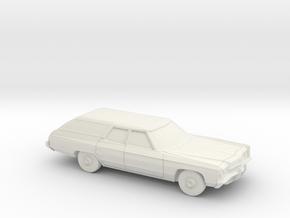 1/87 1972 Impala Kingswood Station Wagon in White Natural Versatile Plastic