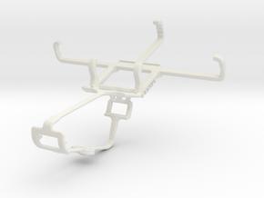 Controller mount for Xbox One & BLU Dash 4.0 in White Natural Versatile Plastic
