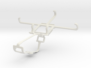 Controller mount for Xbox One & HTC One in White Natural Versatile Plastic