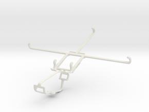 Controller mount for Xbox One & Asus VivoTab 8 (M8 in White Natural Versatile Plastic