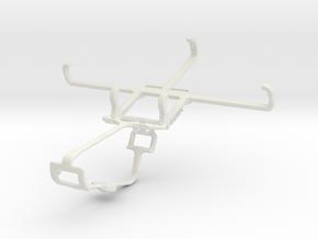 Controller mount for Xbox One & Motorola DROID Tur in White Natural Versatile Plastic