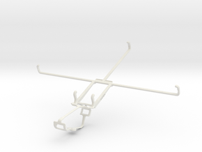 Controller mount for Xbox One & Microsoft Surface  in White Natural Versatile Plastic
