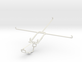 Controller mount for Xbox One & Sony Xperia Tablet in White Natural Versatile Plastic