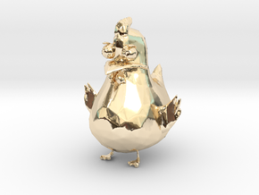 Chicken in 14K Yellow Gold