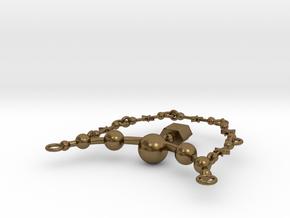 AIWASS COLLAR in Natural Bronze (Interlocking Parts)