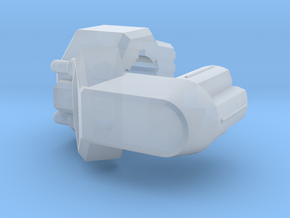 TR Galvatron Cannon Adaptor in Smooth Fine Detail Plastic