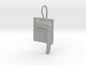 23 Kaf-sofit Earring in Aluminum