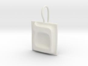24 Mem-sofit Earring in White Natural Versatile Plastic