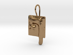26 Pe-sofit Earring in Natural Brass